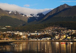 Ushuaia, capital de Tierra del Fuego.